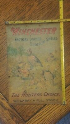 "Original, Winchester Case Insert, Advertising,,,   ""the Hunters Choice""  ,,,"