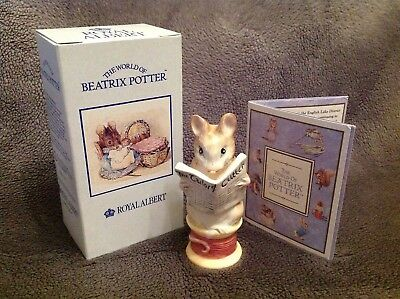 Royal Albert Beatrix Potter Figure TAILOR OF GLOUCESTER 9.2cm + Original Box