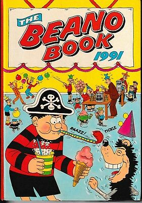 A Vintage 1991 Beano Annual Book. Unclipped & Unwritten.