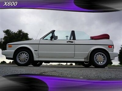 1990 Cabriolet One Owner -- 1990 Volkswagen Cabriolet One Owner for sale!