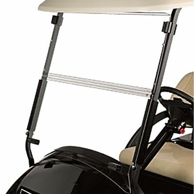 Club Car Precedent CLEAR Windshield, 4mm Acrylic, Folding Flip Down