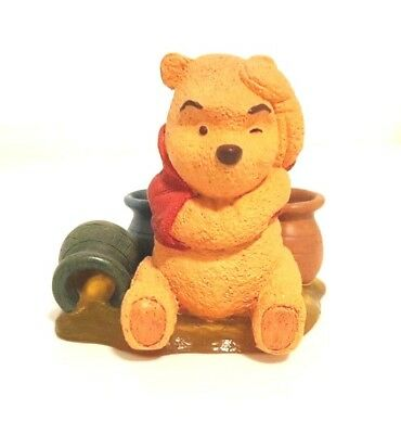 """Disney Simply Pooh """"Even Thinking Makes Me Hungry"""" Figurine"""