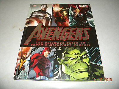 The Avengers, The Ultimate Guide Hardcover Signed By Stan Lee Certified Coa