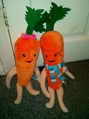 Aldi Kevin and Katie Carrot 2017 Edition Soft Plush Toy