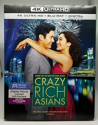 Crazy Rich Asians 4K Blu-ray Digital