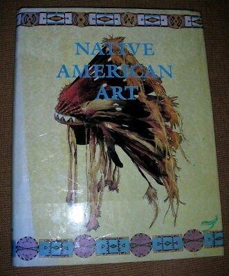WONDERFULLY ILLUSTRATED BOOK on NATIVE AMERICAN INDIAN ART - VERY LARGE BOOK