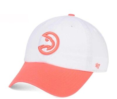 newest c53b0 8cfd1 ... aliexpress new atlanta hawks pastel rush clean up hat cap 47 brand  white orange f21c9 c06c6