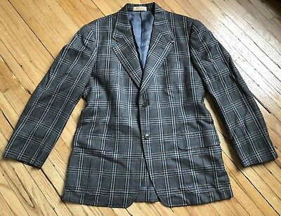 Vtg 1970s Does 1930s Style Belted Pleated Back Blazer,Suit Jacket. Sz-40