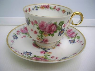 Haviland Parisiana Cup And Saucer Set France