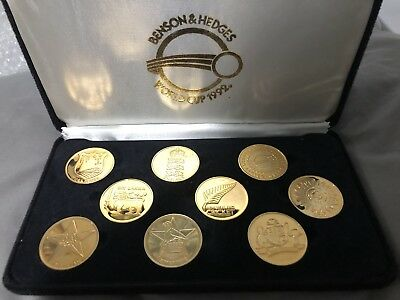 Cricket Collectors Medallions 1992 World Cup Coins Set