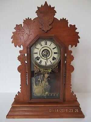 """Ingraham """"Sun"""" model mantle clock in great condition"""