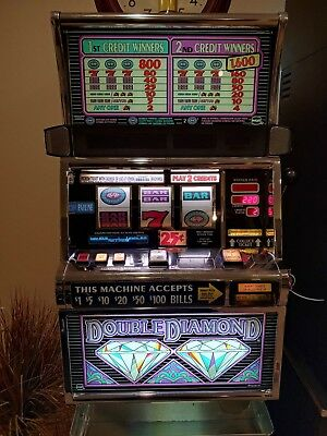 """IGT S2000 """"Double Diamond"""" Coinless Slot MachineTicket Printer"""