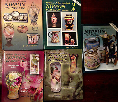 5 books - Joan Van Patten - Nippon Porcelain, The Collector's Encyclopedia