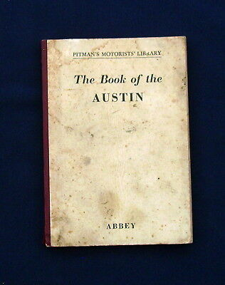 The 'Book of the Austin' Motor Vehicle Handbook 1960