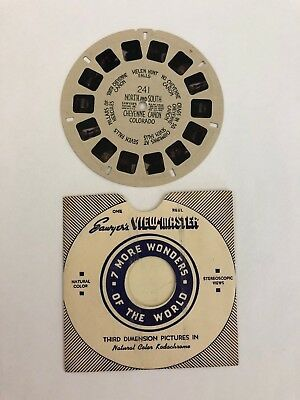 View-master Sawyers # 176 Petrified Forest Arizona Reel Hand Lettered