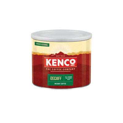 Kenco Decaff Freeze Dried Instant Coffee 500g -Tracked service-