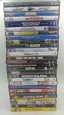 Lot of 50 Used TV shows Movies  DVD Movies Bulk DVDs Wholesale Huge Collection