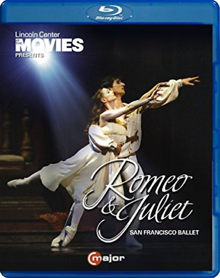 San Francisco Ballet-Romeo & Juliet (Bluray) (Importación USA) Blu-Ray NUEVO