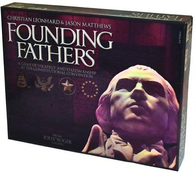-FOUNDING FATHERS - A GAME OF THE EARLY AMERICAN RE (Importación USA) ACC NUEVO