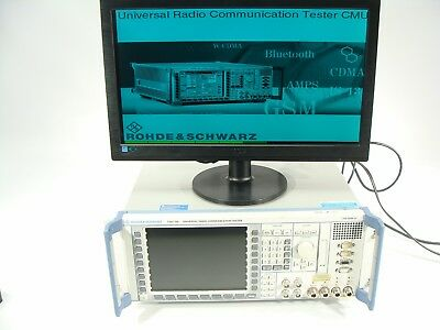 Rohde & Schwarz CMU200 Radio Communication Tester Spectrum Analyzer + BLUETOOTH!