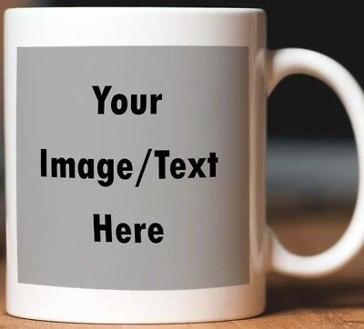 Personalised Mug- Text Photo Birthday Mum Dad Coffee Tea Cup Any Name Valentines