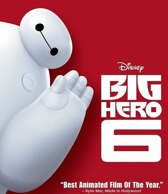 Big Hero 6 - Disney (3D Blu-ray, disk only)