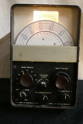 Very Rare R.l. Drake 1-A Ssb Receiver - Tested, Working