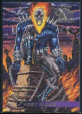 1995 Flair Marvel Annual Trading Card #123 Ghost Rider