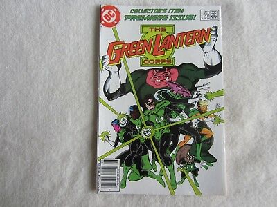 The Green Lantern Corps Comic #201 June 1986 (1st Kilowog Appearance)