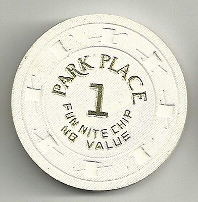 Bally's Park Place Atlantic City, New Jersey Fun Nite Casino Chip