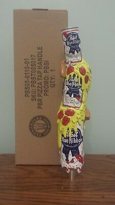 Pabst Art Beer Tap Handle - Pizza 2 New/In Box - Free Shipping - Dela Deso Art