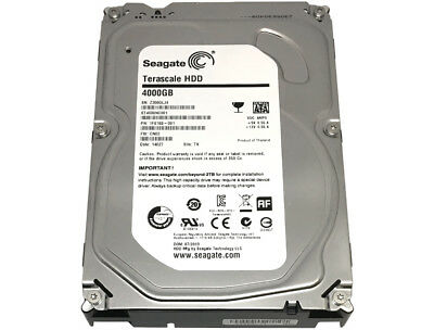 Terascale Hard drive ST4000NC000 Seagate Recertified direct from Seagate