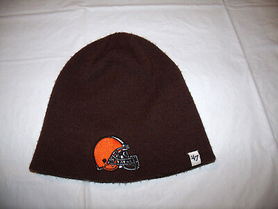 Cleveland Browns Embroidered Brown Winter Hat Beanie  47 Brand 545535c15