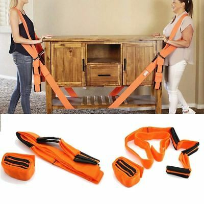 Lifting Shoulder Straps Moving Lift Aid Tool Heavy Furniture Appliance Dolly  AU