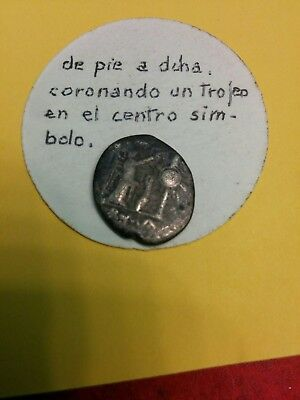 ancient silver coin?  Republica Romana Victoriato anos 268-217 BC poor condition