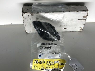 Buick GM OEM 13-16 Encore Rear Bumper-Tow Hook Eye Cap Cover 95261119