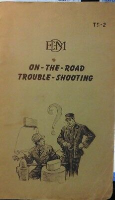 Railroad Rule Manual Book Emd On-The-Road Trouble-Shooting,  Ts-2