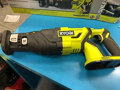 Ryobi P517 18V 18-Volt ONE+ Brushless Reciprocating Saw (No Battery & Charger)