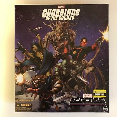Entertainment Earth Exclusive Marvel Legends Guardians of the Galaxy Box Set New