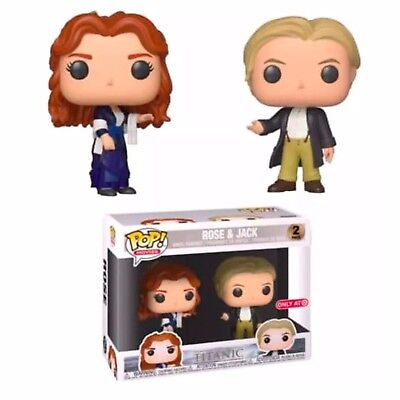 Funko Pop! Rose & Jack 2 Pack Titanic *Target Exclusive* Preorder