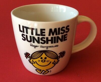 Mr Men LITTLE MISS SUNSHINE ceramic/pottery coffee mug collectable