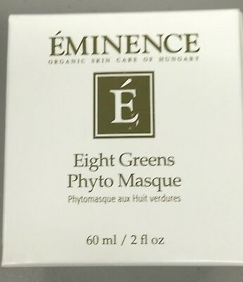 Eminence Eight Greens Phyto Masque - Not Hot  2oz New In Box  Former Packaging V
