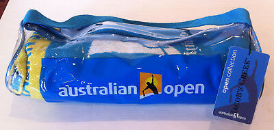 Official Australian Open Melbourne 2012 Jacobs Creek Mens Towel With Carry Case