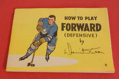 How to Play Forward (Defensive) David Keon Advertising Booklet 1966 Coca-Cola