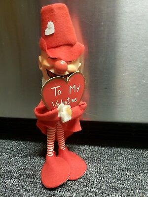 "Vintage Valentine's Elf  Made In Japan  9"" Tall"