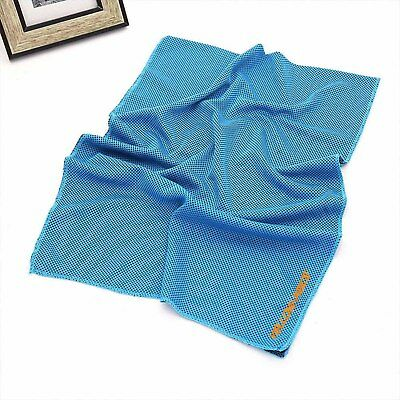Cool Towel Athletic Cold Chill Wet Ice Microfiber Baseball Sports Baby Headband