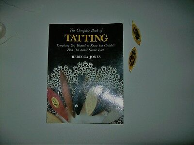 Tatting Books, Shuttles and Cotton