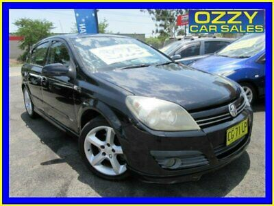 2006 Holden Astra AH MY07 SRi Black Automatic 4sp A Hatchback