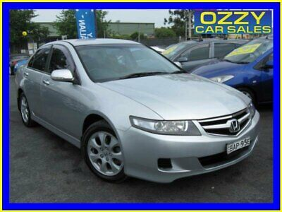 2007 Honda Accord MY06 Upgrade Euro Silver Automatic 5sp A Sedan