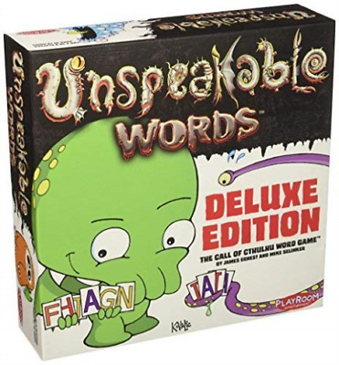 -UNSPEAKABLE WORDS : THE CALL OF CTHULU WORD GAME - (Importación USA) ACC NUEVO